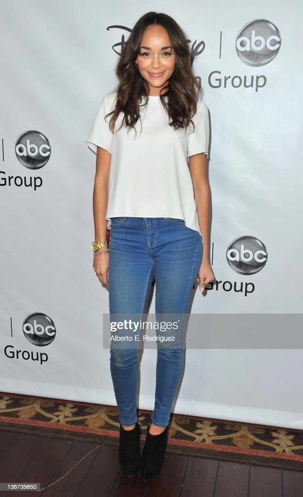 Actress Ashley Madekwe arrives to the Disney ABC Television Group's 'TCA Winter Press Tour' on January 10, 2012 in Pasadena, California.
