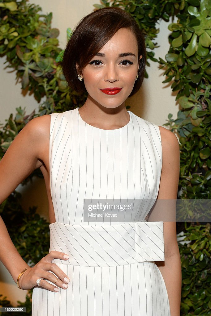 Actress Ashley Madekwe attends ELLE's 20th Annual Women In Hollywood Celebration at Four Seasons Hotel Los Angeles at Beverly Hills on October 21, 2013 in Beverly Hills, California.