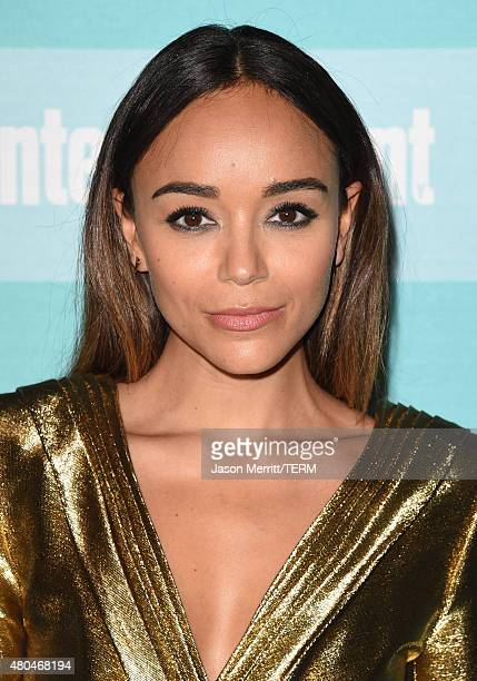 Actress Ashley Madekwe attends Entertainment Weekly's ComicCon 2015 Party sponsored by HBO Honda Bud Light Lime and Bud Light Ritas at FLOAT at The...
