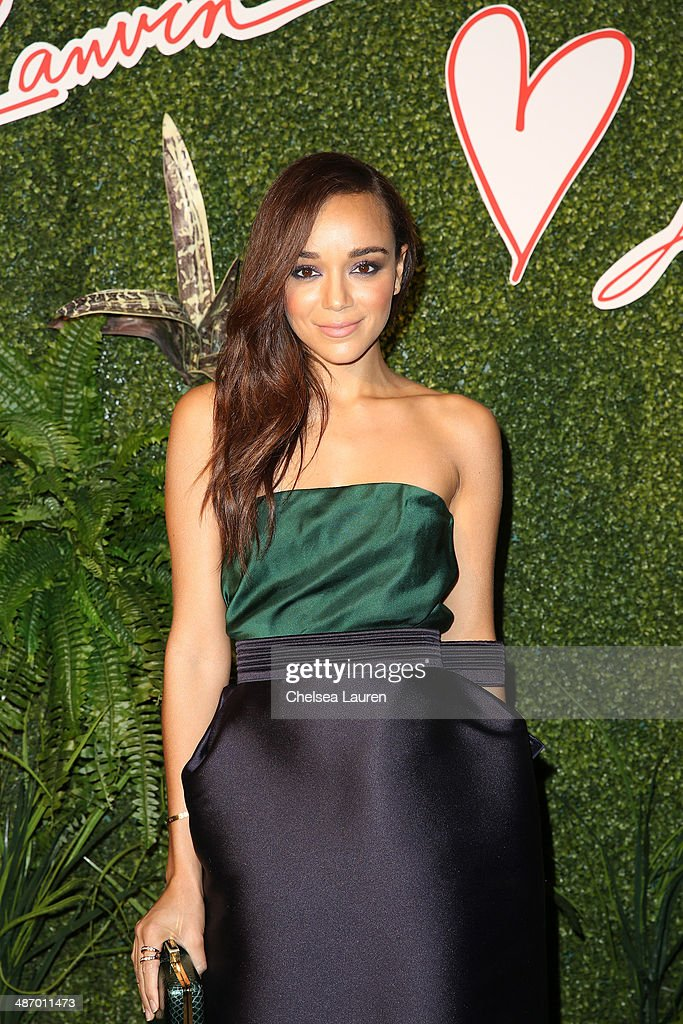 Actress Ashley Madekwe attends Lanvin And Living Beauty Host An Evening Of Fashion on April 26, 2014 in Beverly Hills, California.