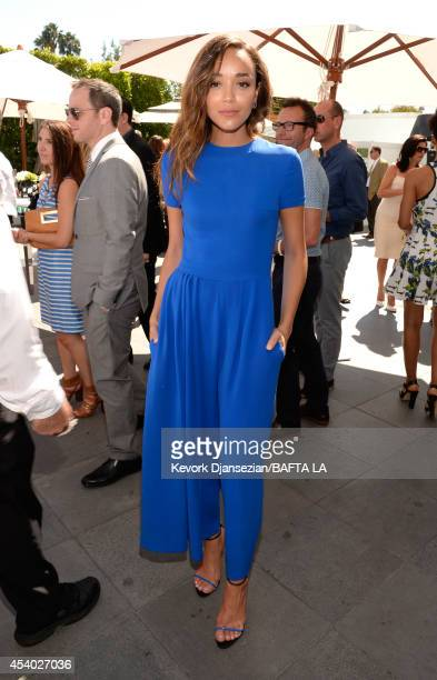 Actress Ashley Madekwe attends the 2014 BAFTA Los Angeles TV Tea presented by BBC America And Jaguar at SLS Hotel on August 23 2014 in Beverly Hills...
