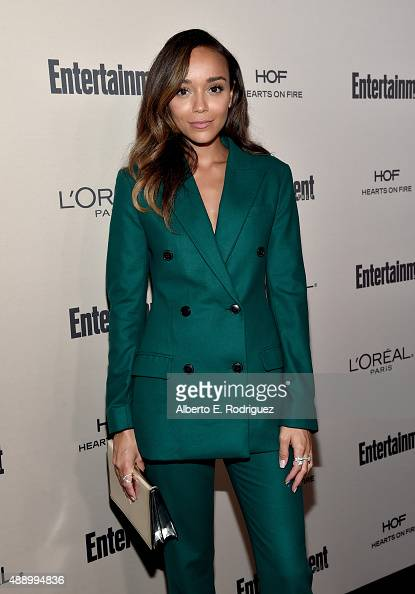 Actress Ashley Madekwe attends the 2015 Entertainment Weekly PreEmmy Party at Fig Olive Melrose Place on September 18 2015 in West Hollywood...
