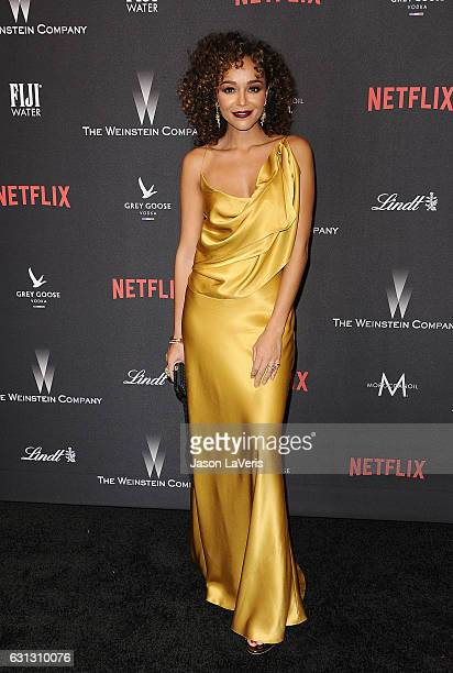 Actress Ashley Madekwe attends the 2017 Weinstein Company and Netflix Golden Globes after party on January 8 2017 in Los Angeles California