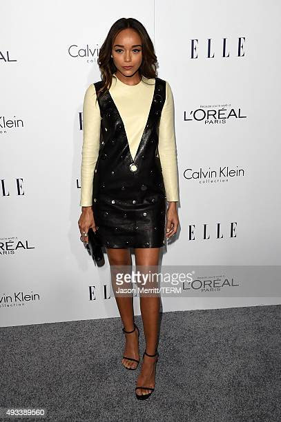 Actress Ashley Madekwe attends the 22nd Annual ELLE Women in Hollywood Awards at Four Seasons Hotel Los Angeles at Beverly Hills on October 19 2015...