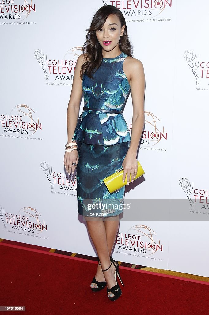 Actress Ashley Madekwe attends the 34th College Television Awards Gala at JW Marriott Los Angeles at L.A. LIVE on April 25, 2013 in Los Angeles, California.