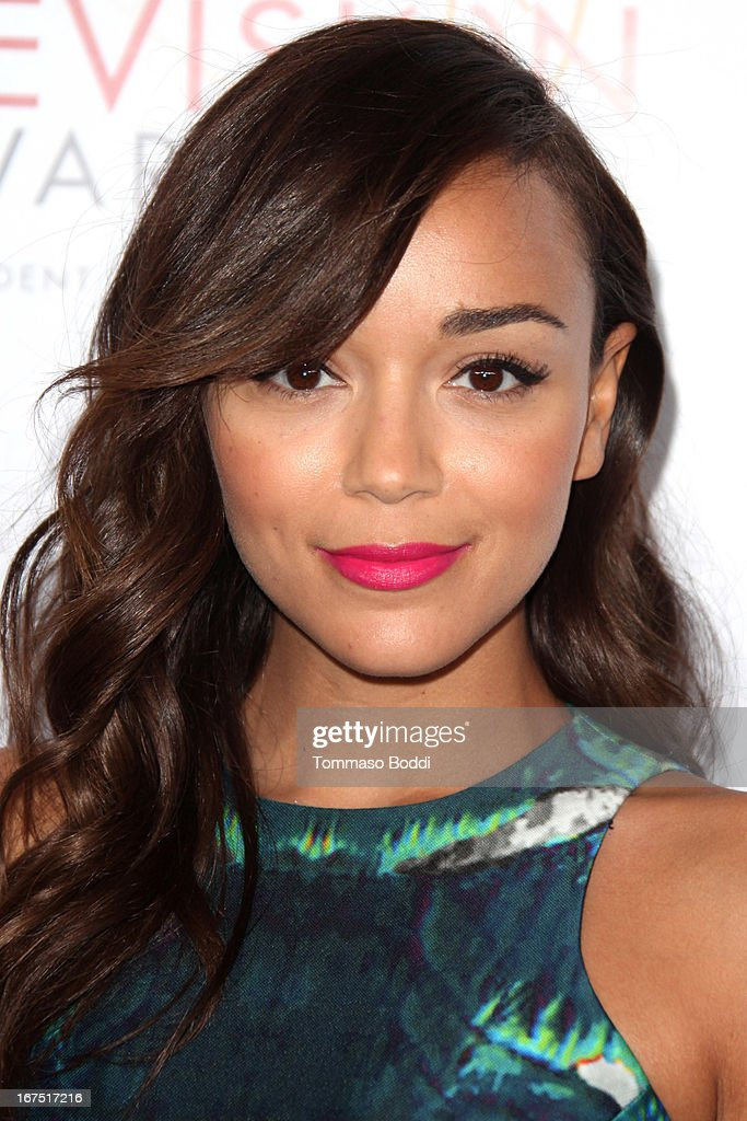 Actress Ashley Madekwe attends the 34th College Television Awards Gala held at the JW Marriott Los Angeles at L.A. LIVE on April 25, 2013 in Los Angeles, California.