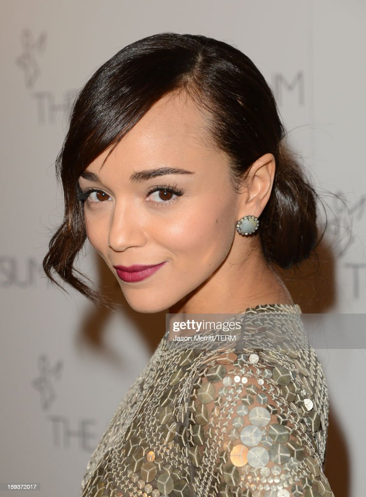 Actress Ashley Madekwe attends The Art of Elysium's 6th Annual HEAVEN Gala presented by Audi at 2nd Street Tunnel on January 12, 2013 in Los Angeles, California.