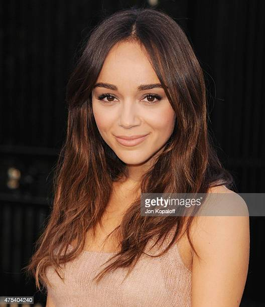 Actress Ashley Madekwe attends the Burberry 'London in Los Angeles' event at Griffith Observatory on April 16 2015 in Los Angeles California