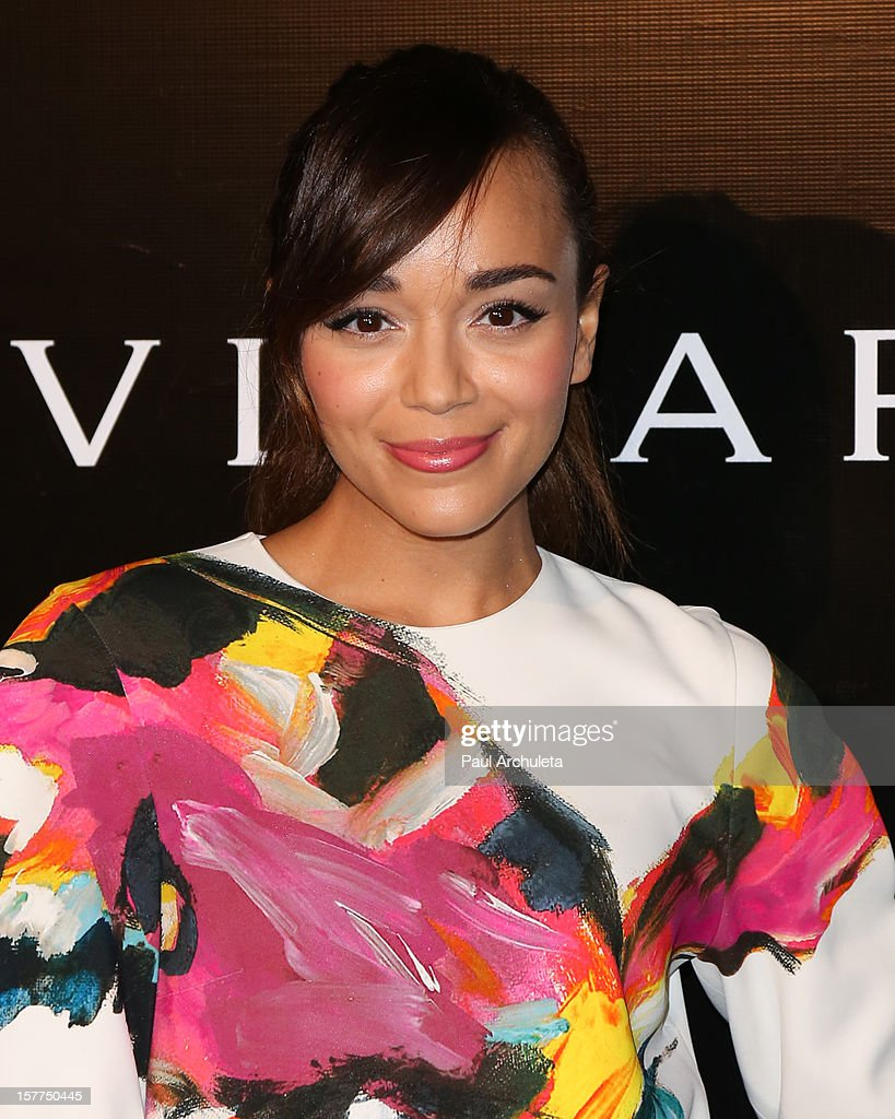 Actress Ashley Madekwe attends the Rodeo Drive Walk of Style honoring BVLGARI on December 5, 2012 in Beverly Hills, California.