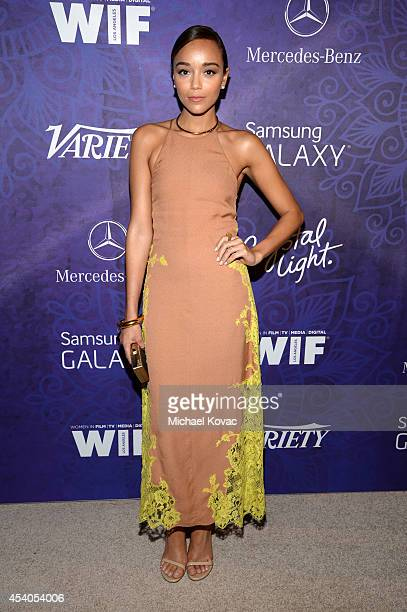 Actress Ashley Madekwe attends Variety and Women in Film Emmy Nominee Celebration powered by Samsung Galaxy on August 23 2014 in West Hollywood...