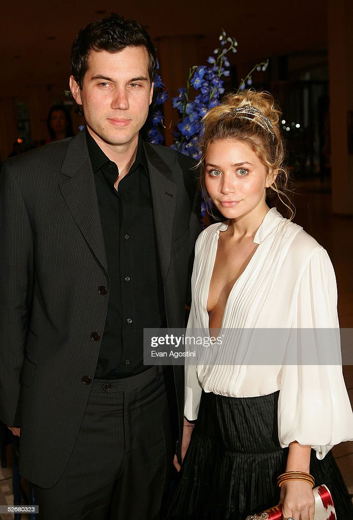 Actress Ashley Olsen and boyfriend Scott Sartiano arrive at the 'Stars In The Sky' benefit for the Association of Hole in the Wall Camps at Avery...