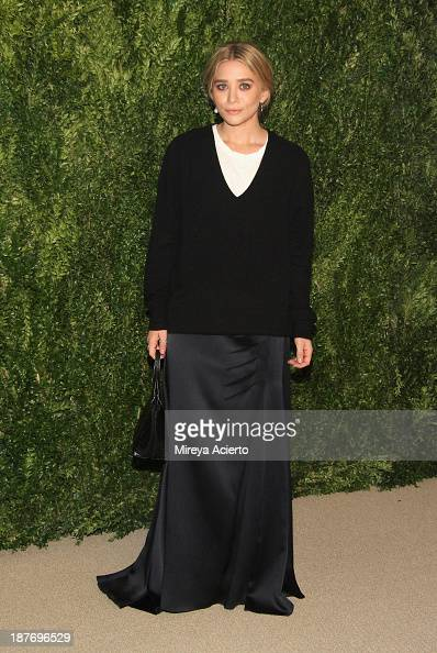 Actress Ashley Olsen attends CFDA and Vogue 2013 Fashion Fund Finalists Celebration at Spring Studios on November 11 2013 in New York City