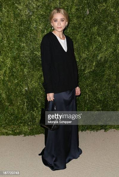 Actress Ashley Olsen attends CFDA and Vogue 2013 Fashion Fund Finalists Celebration at Spring Studios on November 11 2013 in New York CityÊ