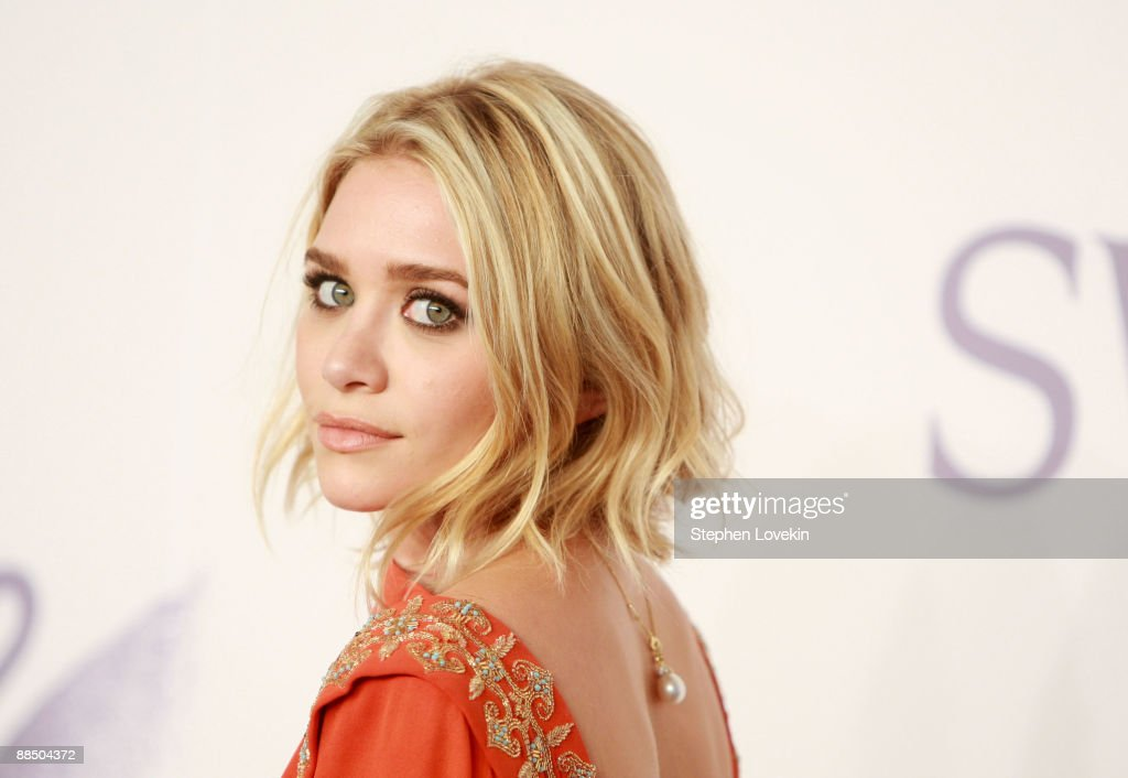 Actress Ashley Olsen attends the 2009 CFDA Fashion Awards at Alice Tully Hall Lincoln Center on June 15 2009 in New York City