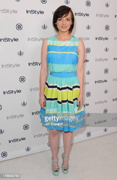 Actress Ashley Rickards arrives at the 13th Annual InStyle Summer Soiree at Mondrian Los Angeles on August 14 2013 in West Hollywood California