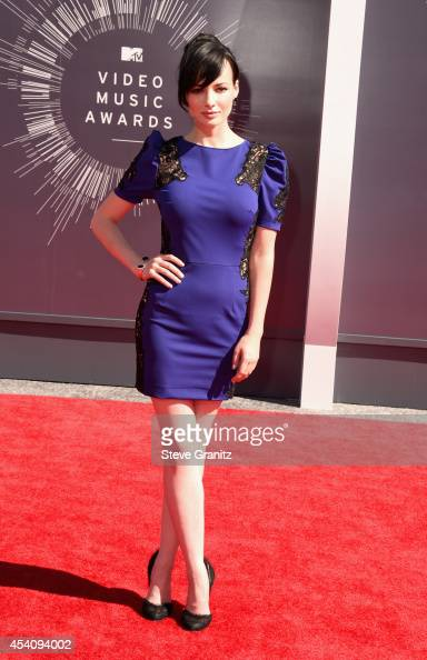 Actress Ashley Rickards attends the 2014 MTV Video Music Awards at The Forum on August 24 2014 in Inglewood California