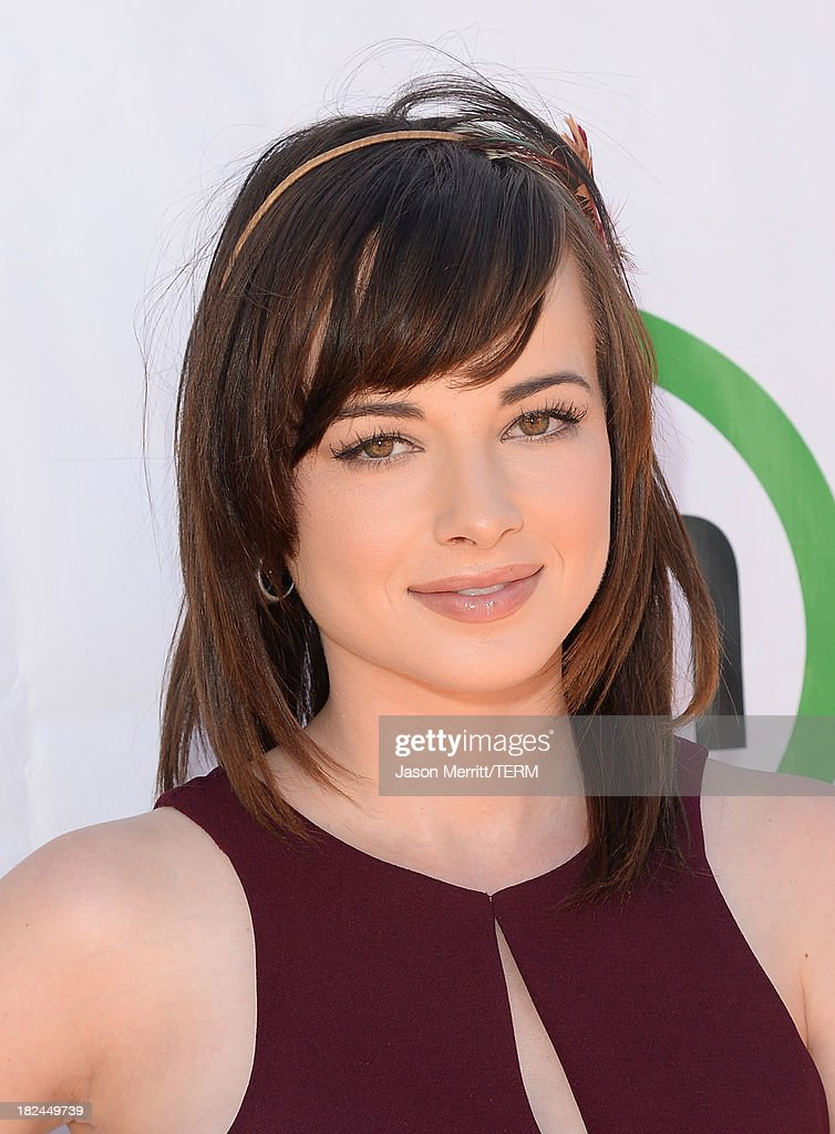 Actress <a gi-track='captionPersonalityLinkClicked' href=/galleries/search?phrase=Ashley+Rickards&family=editorial&specificpeople=5056458 ng-click='$event.stopPropagation()'>Ashley Rickards</a> attends the 2nd Annual GameOn! fundraiser hosted by Common Sense Media at Sony Pictures Studios on September 29, 2013 in Culver City, California.