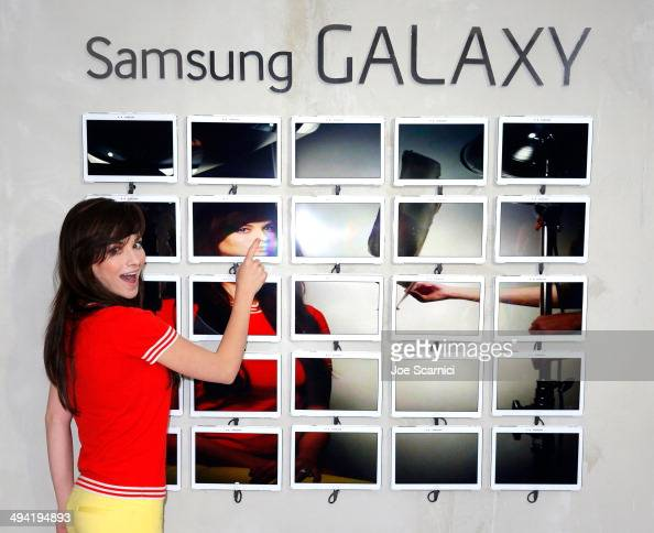 Actress Ashley Rickards attends the Variety Studio powered by Samsung Galaxy on May 28 2014 in West Hollywood California
