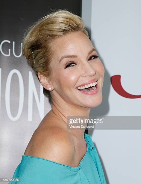 Actress Ashley Scott attends SAG Foundation's 'Conversations' series screening of 'UnREAL' at SAG Foundation Actors Center on September 23 2015 in...