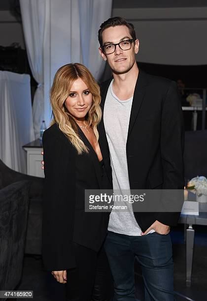 Actress Ashley Tisdale and husband Christopher French attend the 6th annual ELLE Women In Music celebration presented By eBay Hosted by Robbie Myers...