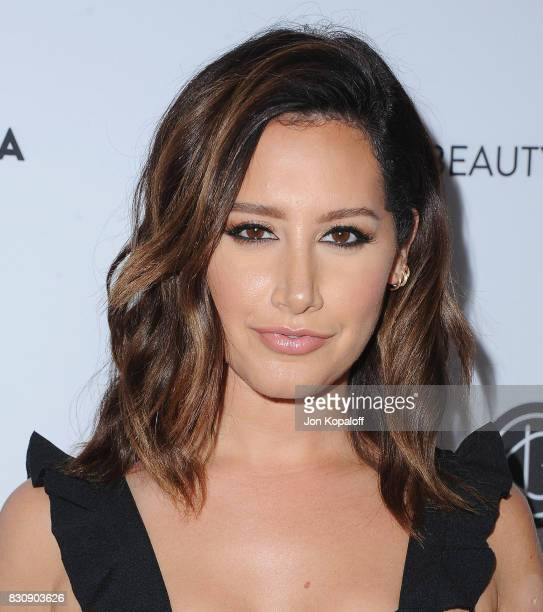Actress Ashley Tisdale arrives at the 5th Annual Beautycon Festival Los Angeles at Los Angeles Convention Center on August 12 2017 in Los Angeles...