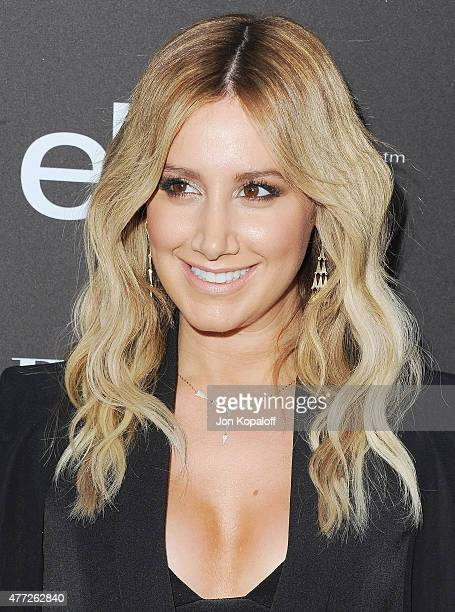 Actress Ashley Tisdale arrives at the 6th Annual ELLE Women In Music Celebration Presented by eBay at Boulevard3 on May 20 2015 in Hollywood...