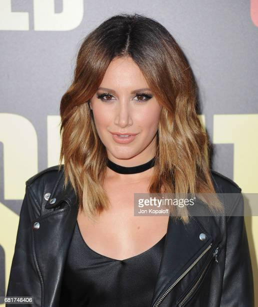 Actress Ashley Tisdale arrives at the Los Angeles Premiere 'Snatched' at Regency Village Theatre on May 10 2017 in Westwood California