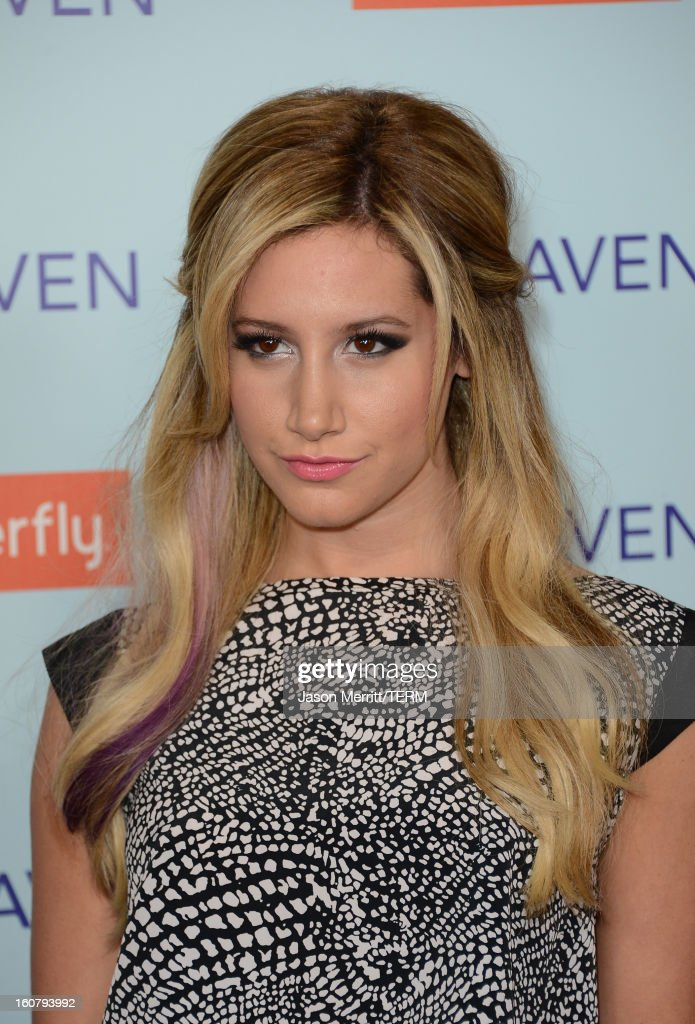 Actress Ashley Tisdale arrives at the premiere of Relativity Media's 'Safe Haven' at TCL Chinese Theatre on February 5, 2013 in Hollywood, California.