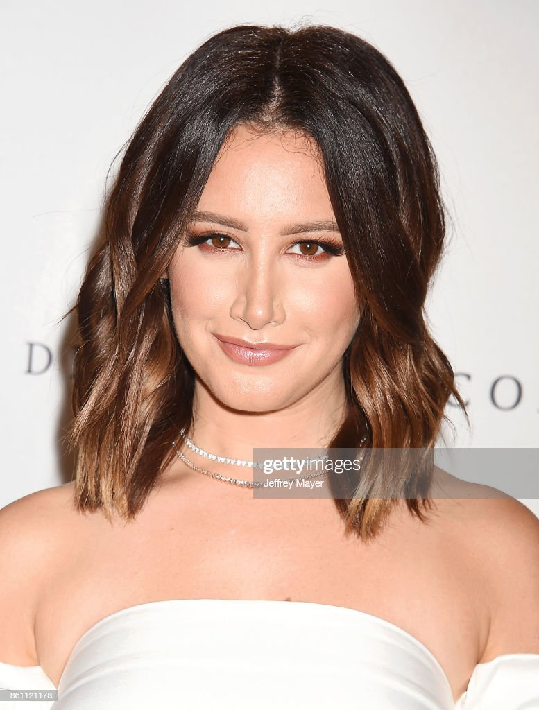 Actress Ashley Tisdale arrives at the Variety's Power Of Women: Los Angeles at the Beverly Wilshire Four Seasons Hotel on October 13, 2017 in Beverly Hills, California.