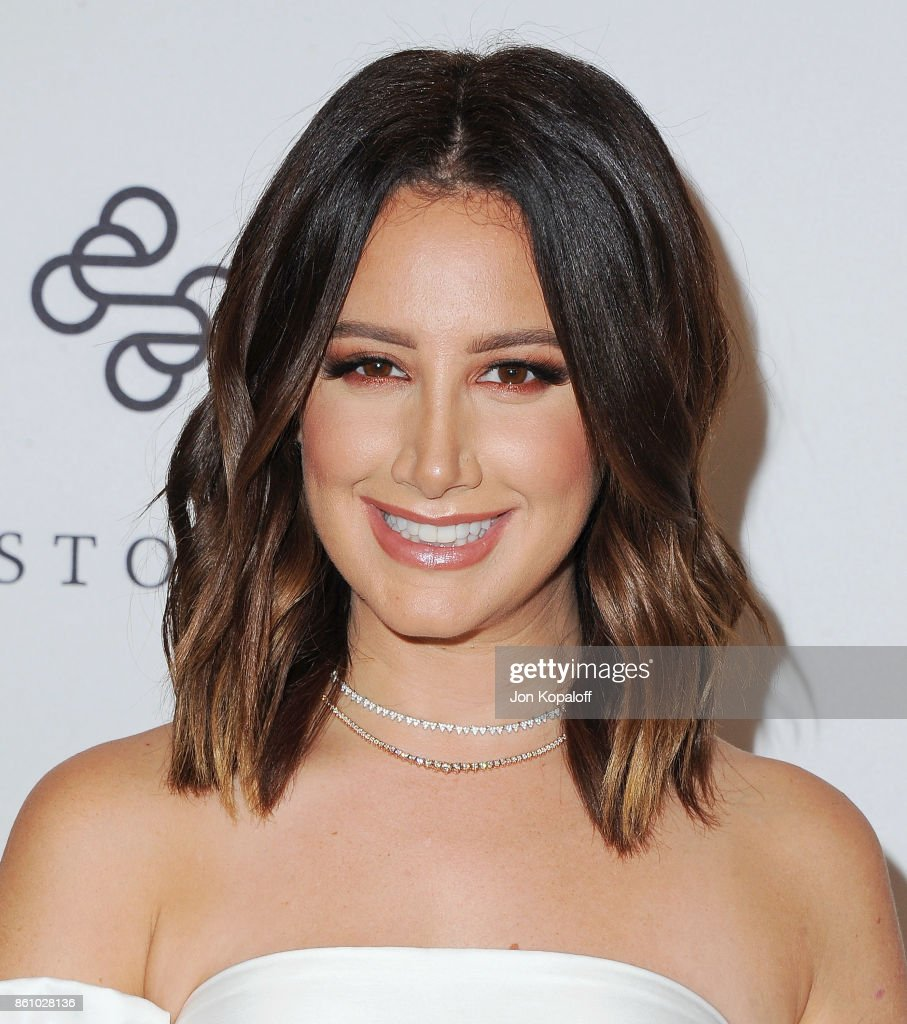 Actress Ashley Tisdale arrives at Variety's Power Of Women: Los Angeles at the Beverly Wilshire Four Seasons Hotel on October 13, 2017 in Beverly Hills, California.