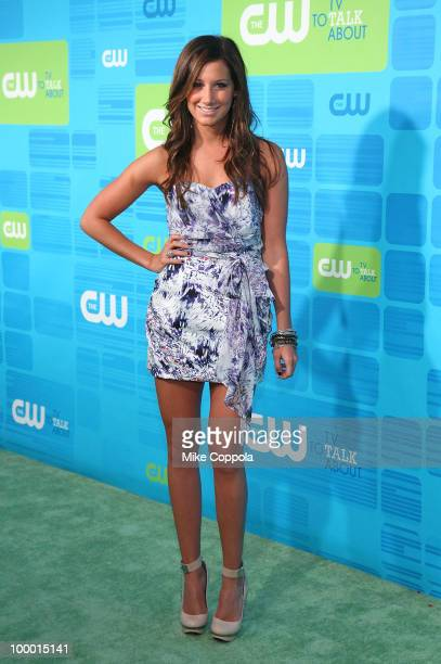 Actress Ashley Tisdale attends the 2010 The CW UpFront at Madison Square Garden on May 20 2010 in New York City