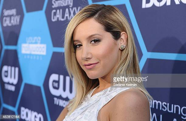 Actress Ashley Tisdale attends the 2014 Young Hollywood Awards brought to you by Mr Pink held at The Wiltern on July 27 2014 in Los Angeles California