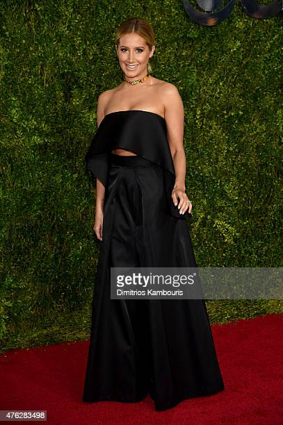 Actress Ashley Tisdale attends the 2015 Tony Awards at Radio City Music Hall on June 7 2015 in New York City