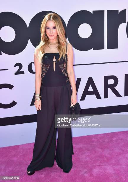 Actress Ashley Tisdale attends the 2017 Billboard Music Awards at TMobile Arena on May 21 2017 in Las Vegas Nevada