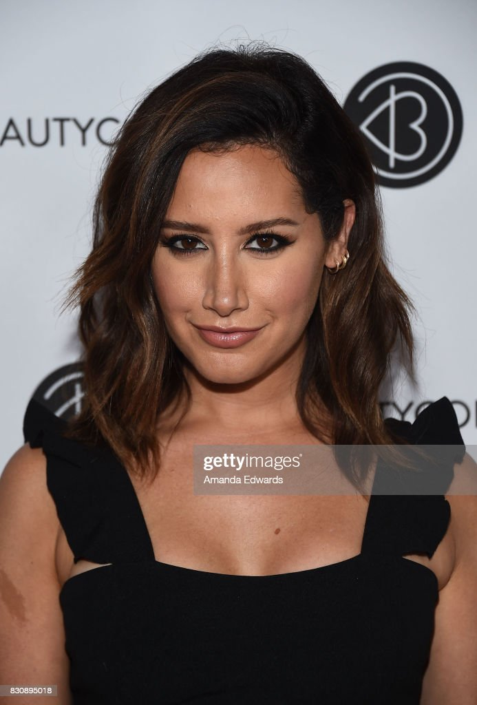 Actress Ashley Tisdale attends the 5th Annual Beautycon Festival Los Angeles at the Los Angeles Convention Center on August 12, 2017 in Los Angeles, California.