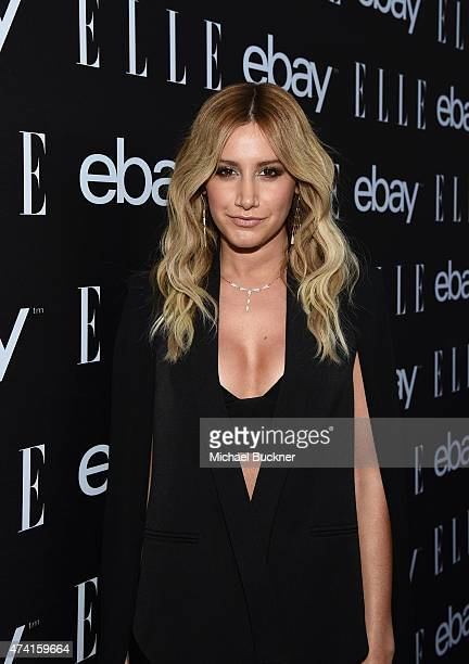 Actress Ashley Tisdale attends the 6th annual ELLE Women In Music celebration presented By eBay Hosted by Robbie Myers with performances by Alanis...