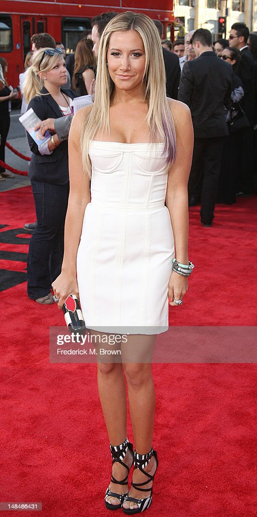 Actress Ashley Tisdale attends the Premiere Of Summit Entertainment's 'Step Up Revolution' at Grauman's Chinese Theatre on July 17, 2012 in Hollywood, California.