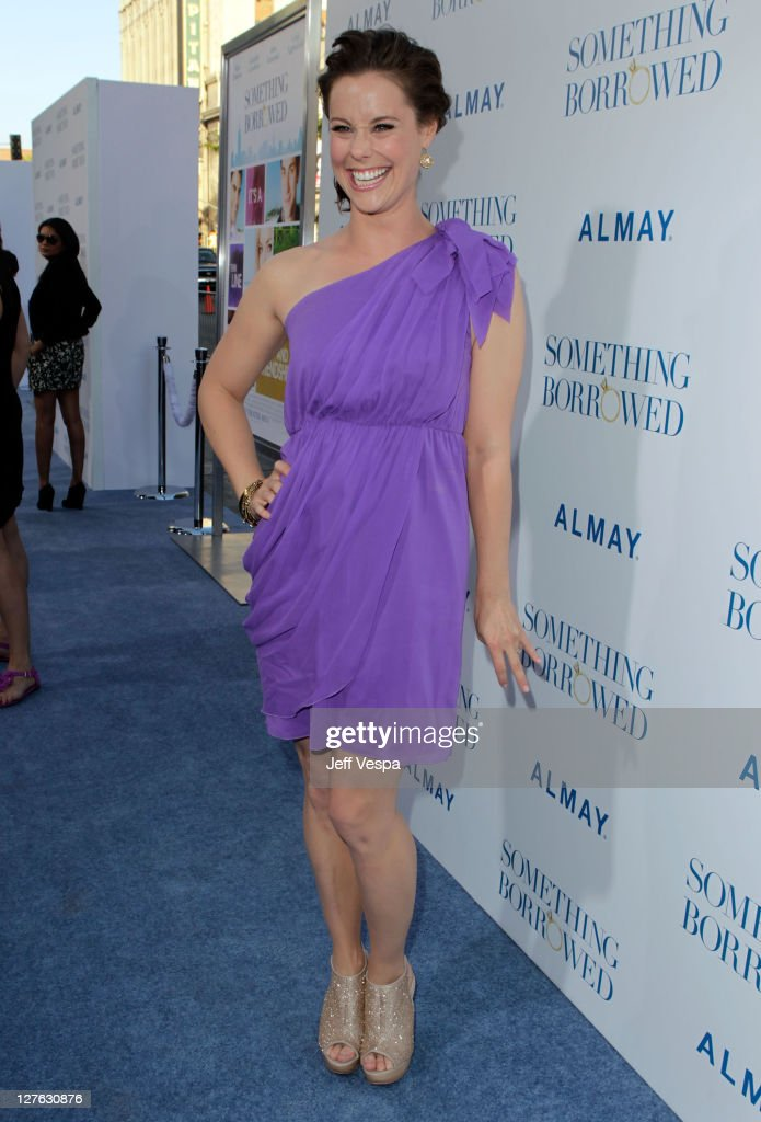 Actress Ashley Williams arrives at the premiere of 'Something Borrowed' held at Grauman's Chinese Theatre on May 3 2011 in Hollywood California