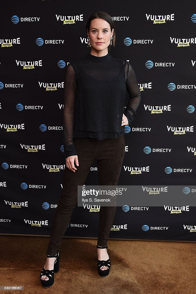 Actress Ashley Williams attends the Vulture Festival Opening Night Party sponsored by DirecTV at The Top of The Standard on May 20 2016 in New York...