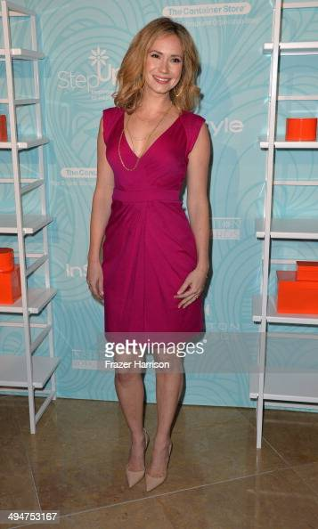 Actress AshleyJones arrives at the Step Up 11th Annual Inspiration Awards at The Beverly Hilton Hotel on May 30 2014 in Beverly Hills California