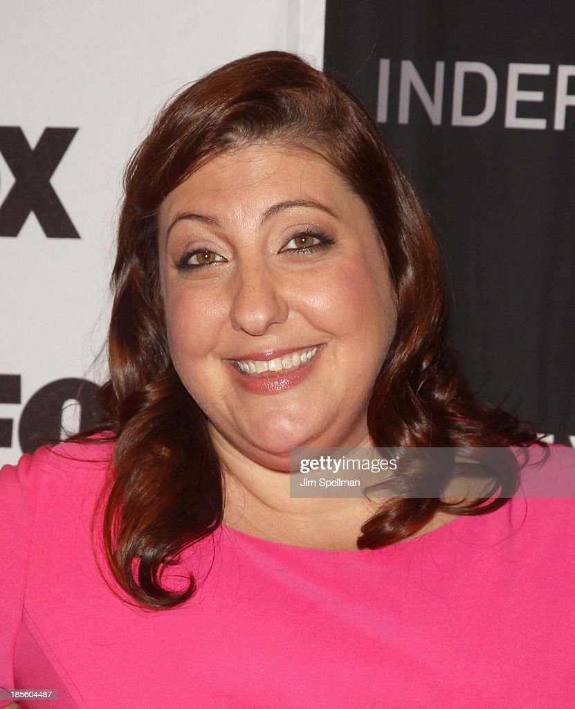 Actress <a gi-track='captionPersonalityLinkClicked' href=/galleries/search?phrase=Ashlie+Atkinson&family=editorial&specificpeople=577478 ng-click='$event.stopPropagation()'>Ashlie Atkinson</a> attends the 'Us And Them' series screening at SVA Theater on October 22, 2013 in New York City.