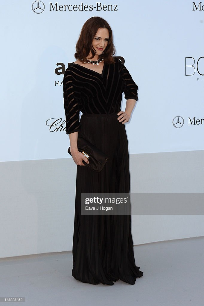 Actress Asia Argento arrives at the 2012 amfAR's Cinema Against AIDS during the 65th Annual Cannes Film Festival at Hotel Du Cap on May 24, 2012 in Cap D'Antibes, France.