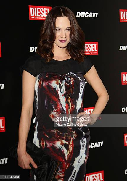 Actress Asia Argento attends the 'Diesel Together With Ducati' cocktail party on March 22 2012 in Rome Italy