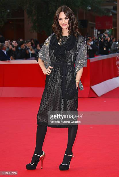 Actress Asia Argento attends the 'Dream Rush' Premiere during day 5 of the 4th Rome International Film Festival held at the Auditorium Parco della...