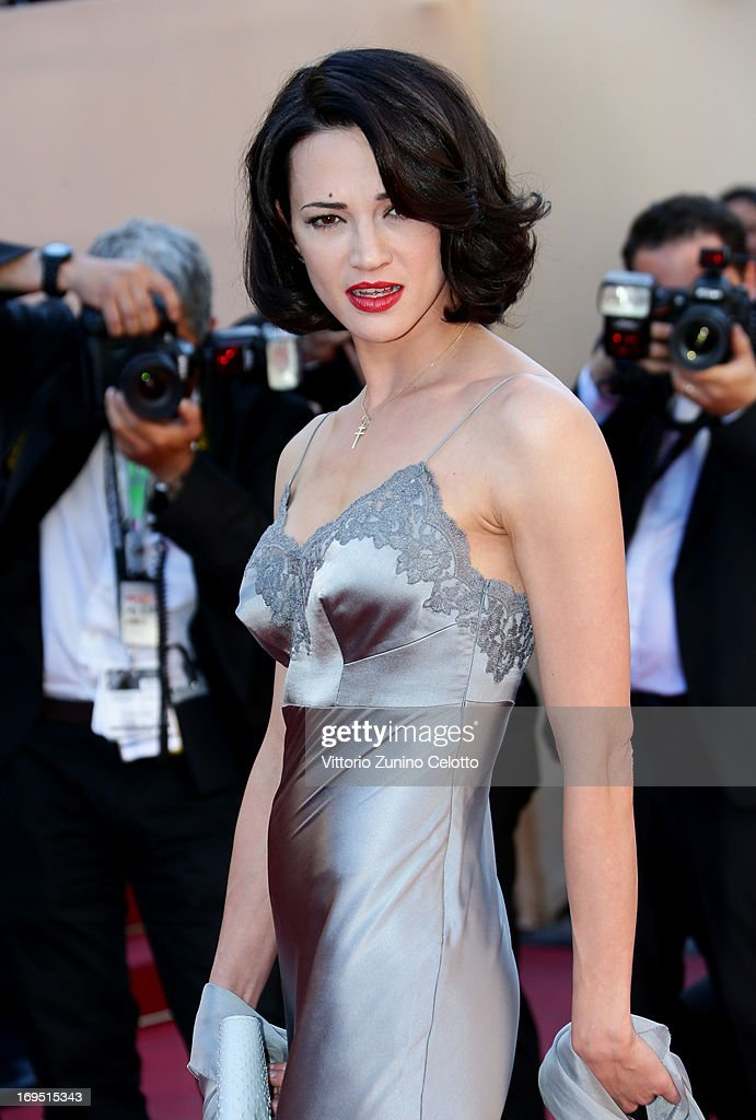 Actress Asia Argento attends the 'Zulu' Premiere and Closing Ceremony during the 66th Annual Cannes Film Festival at the Palais des Festivals on May 26, 2013 in Cannes, France.