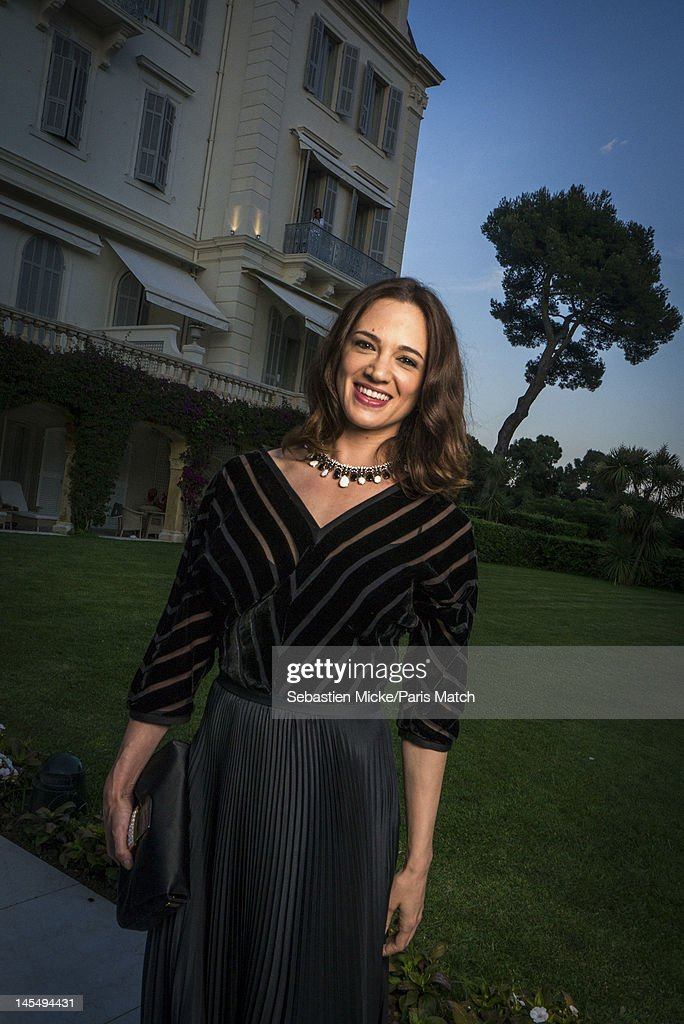Actress Asia Argento photographed at the amfAR Cinema Against AIDS gala, for Paris Match on May 24, 2012, in Cap d'Antibes, France.