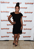 Actress Asia Monet Ray arrives at a screening of The Weinstein Company's 'Underdogs' at the Pacific Theatres at The Grove on July 18 2016 in Los...