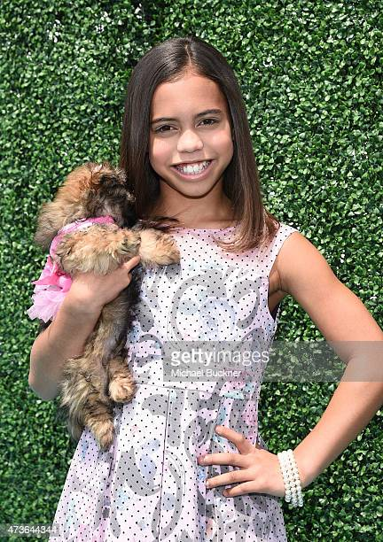 Actress Asia Monet Ray attends OCRF's 2nd Annual Super Saturday LA on May 16 2015 in Santa Monica California