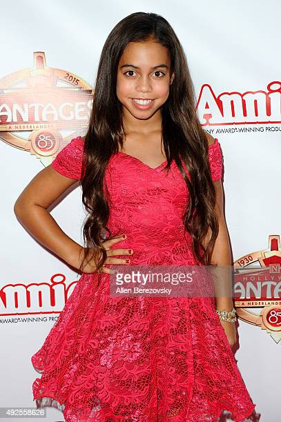 Actress Asia Monet Ray attends the Premiere of 'Annie' at the Hollywood Pantages Theatre on October 13 2015 in Hollywood California
