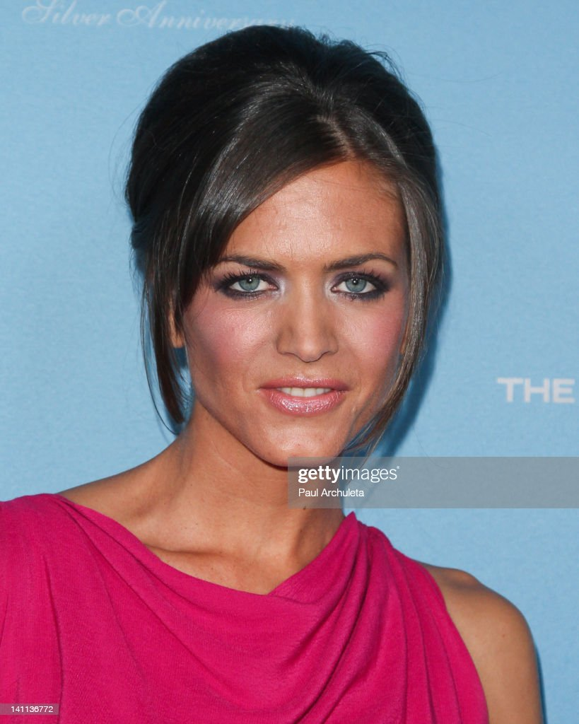 Actress Astrid Bryan attends 'The Bold And The Beautiful' 25th silver anniversary party on March 10, 2012 in Los Angeles, California.